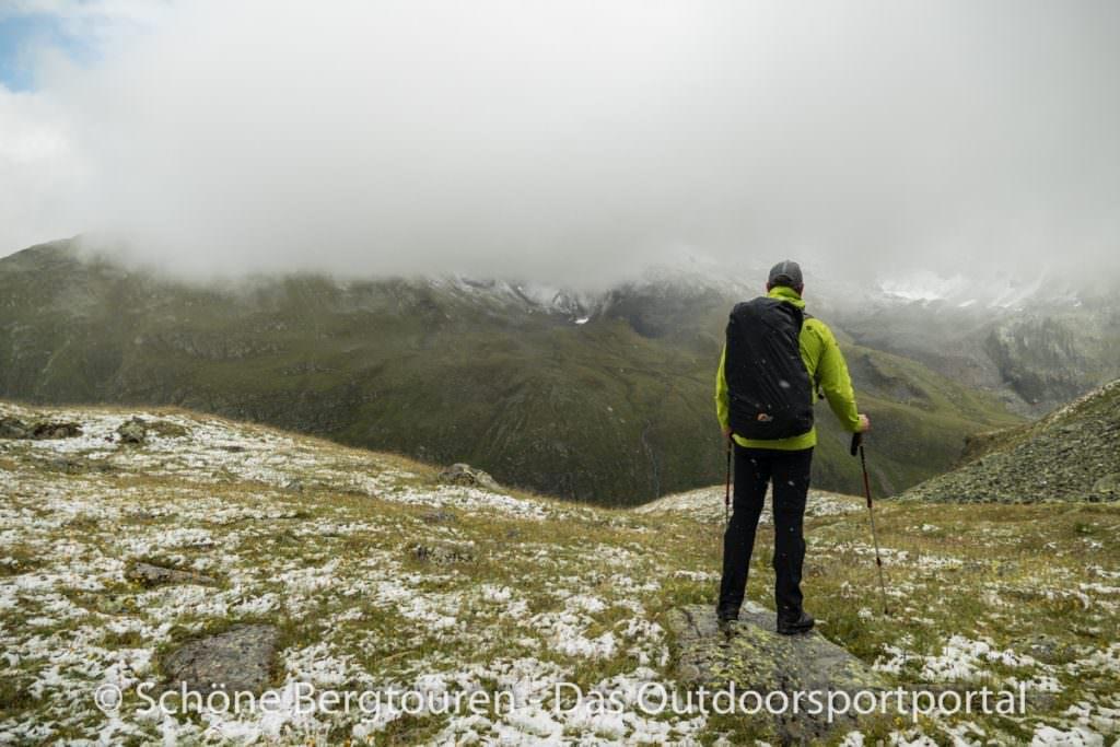 Kesch-Trek - Zwischen Regen und Schnee