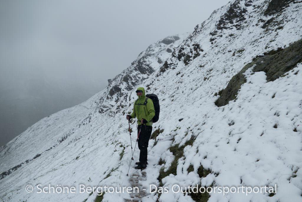 Kesch-Trek - Winter ueber dem Val Funtauna