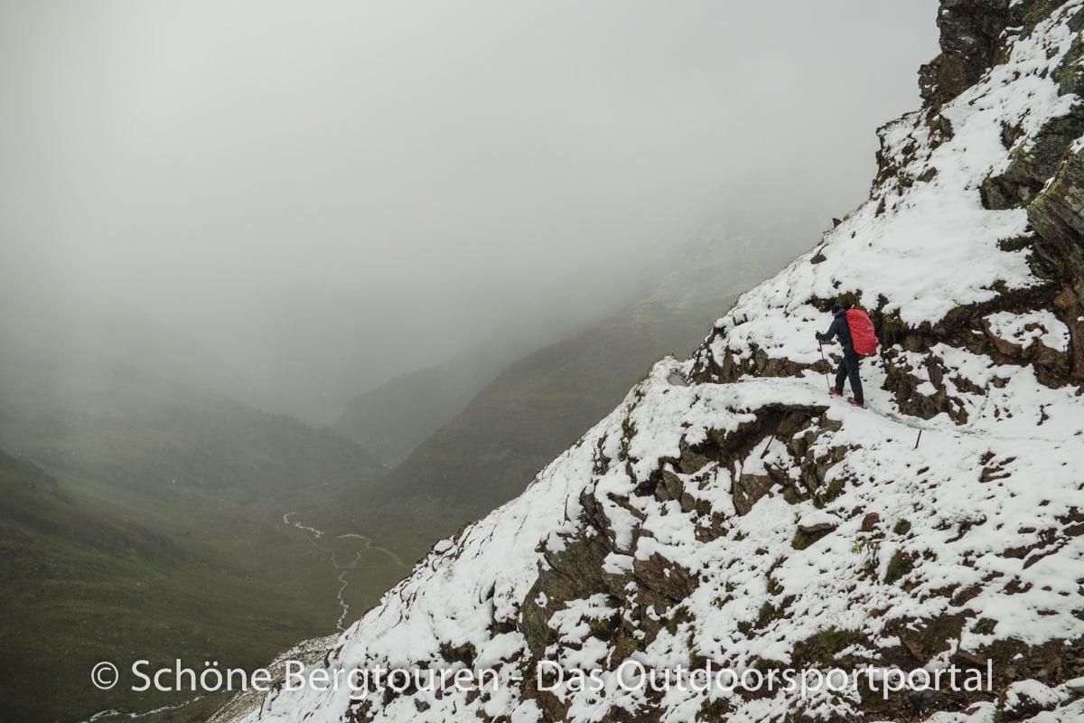 Kesch-Trek - Oberhalb des Val Funtauna