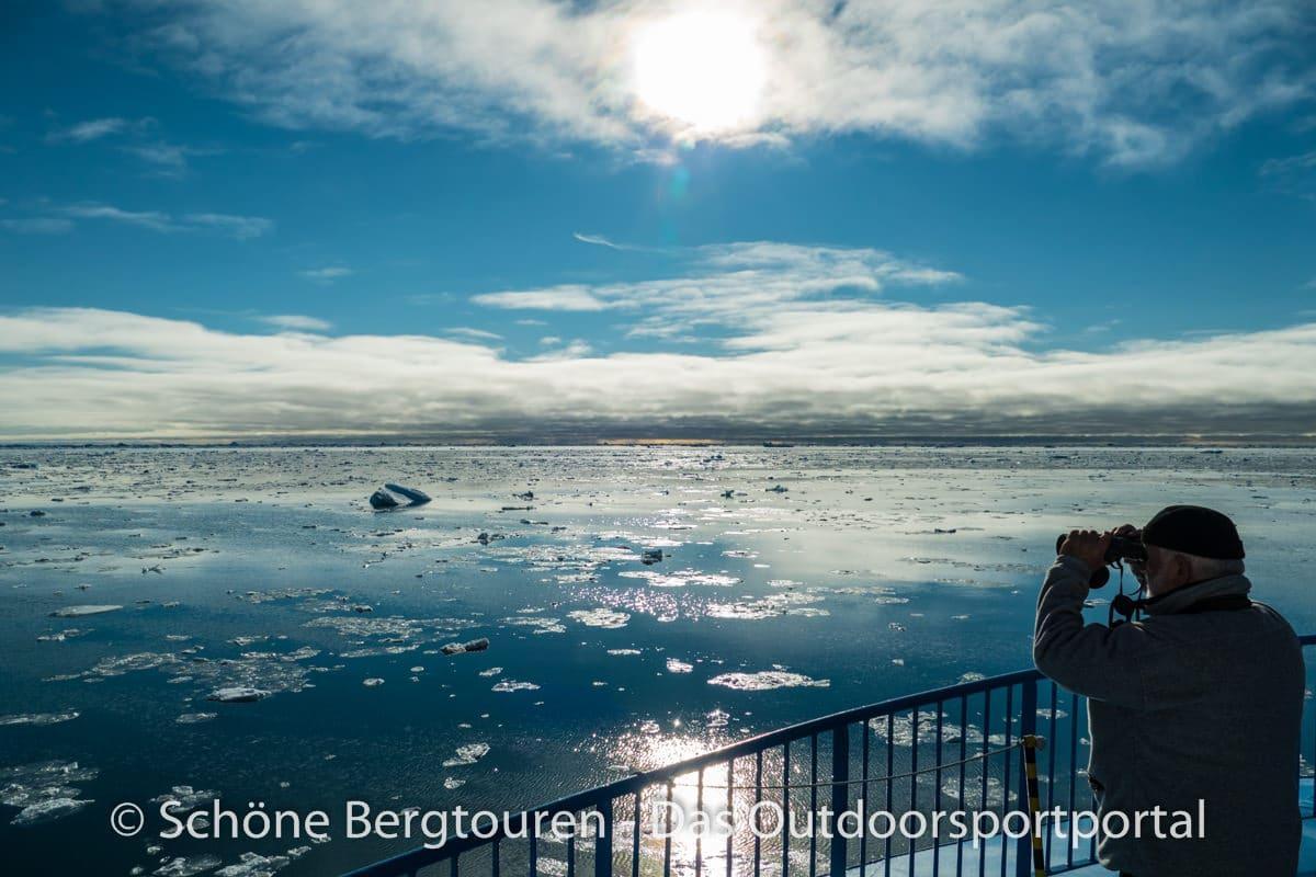 Spitzbergen - Ausguck
