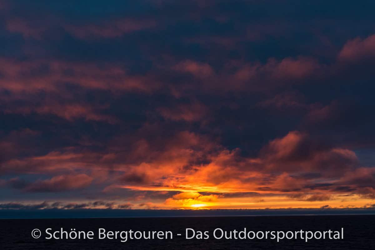 Spitzbergen - Mitternachtssonne