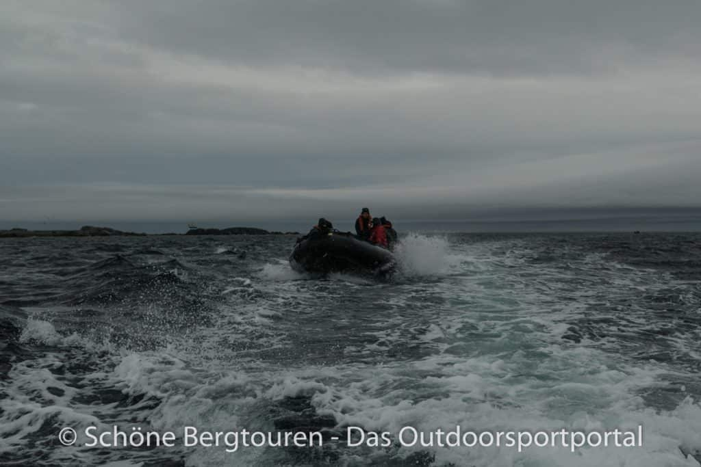 Spitzbergen - Ungemuetliches Wetter