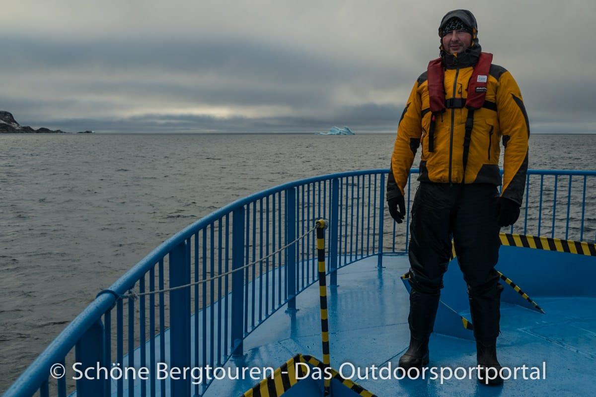 Spitzbergen - Outfit zum Zodiac fahren