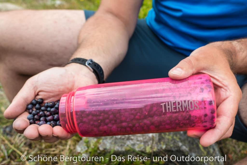Thermos Hydration Bottle - Blaubeeren