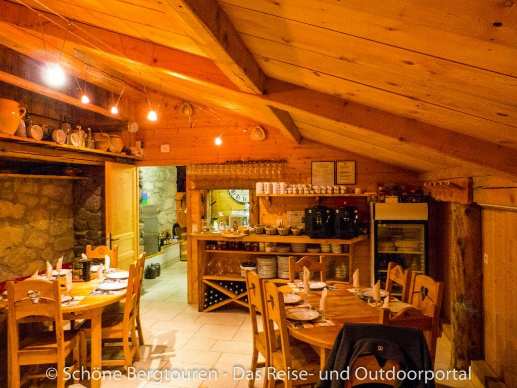 Gite Chez Merlin - Gastraum