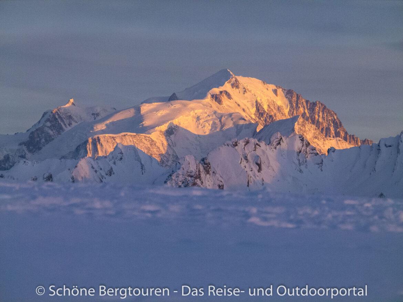 Haute-Savoie - Blick zum Mont Blanc