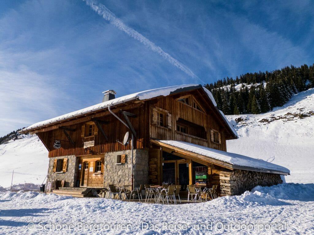 Haute-Savoie - Gite Chez Merlin auf dem Plateau des Glieres
