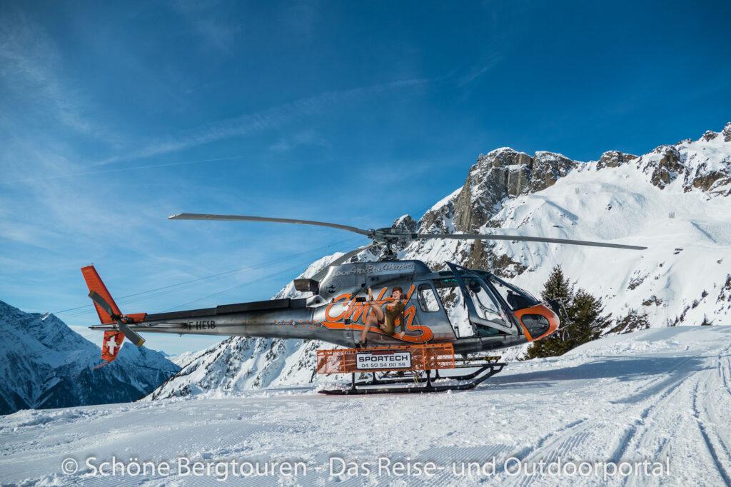 Mont Blanc Rundflug - Helikopter