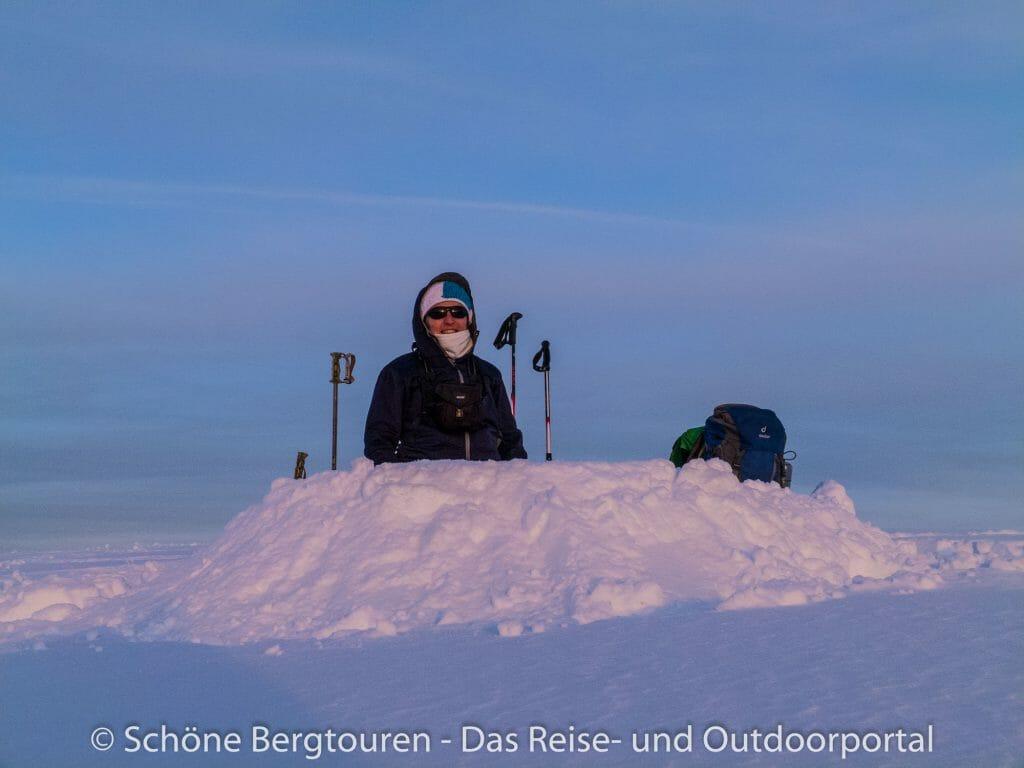 Montagne des Auges - Schneeloch