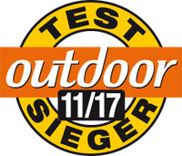 Outdoor Testsieger 11 2017