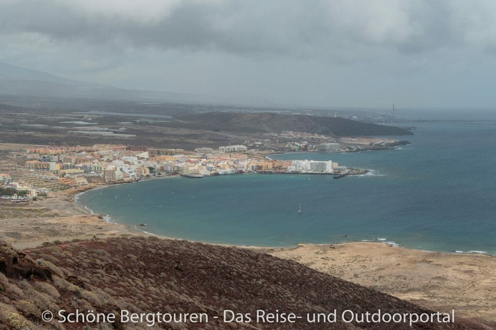 Teneriffa - Blick nach El Medano