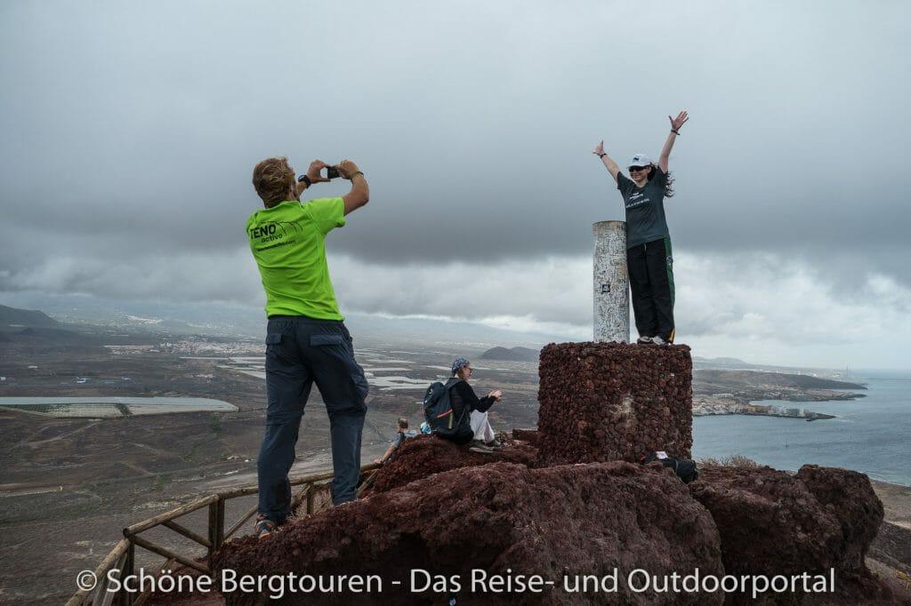 Teneriffa - Gipfelfoto