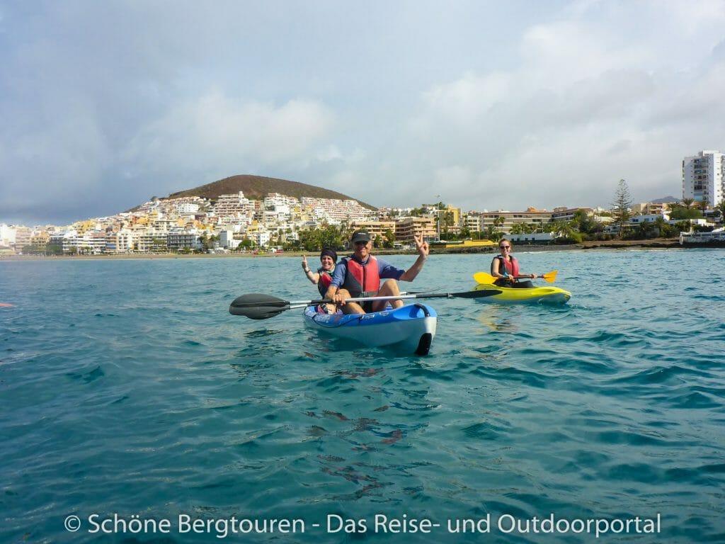 Teneriffa - Seekajak fahren