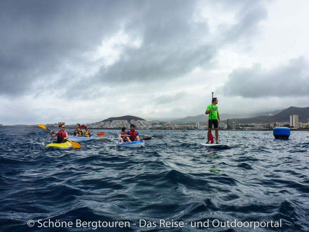Teneriffa - Stand Up Paddling und Seekajak