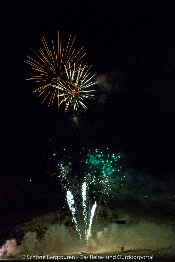 Val d Isere - Feuerwerk