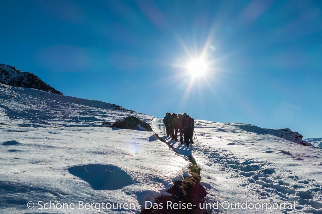 Val d Isere - Schneeschuhwandern