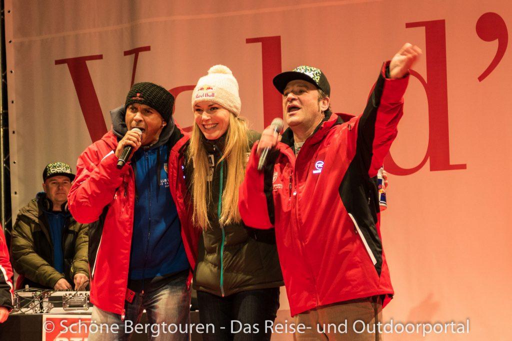 Val d Isere - Skirennläuferin Lindsey Vonn