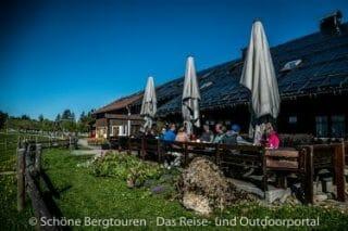 Allgaeuer Alpen - Alpengasthof Hoermoos