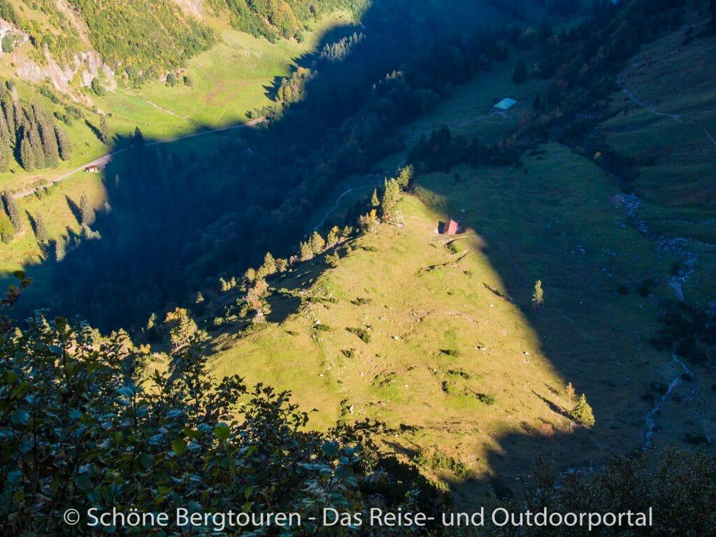 Allgaeuer Alpen - Obere Baerguendelealp