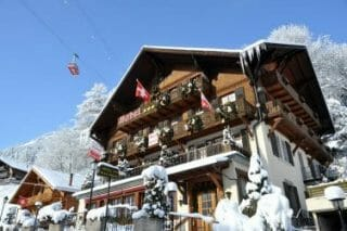 Art Boutique Hotel Beau-Sejour - Im Winter