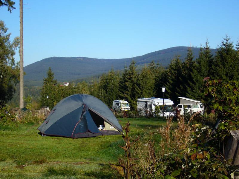 Campingplatz Harz-Camping - Wanderzelt