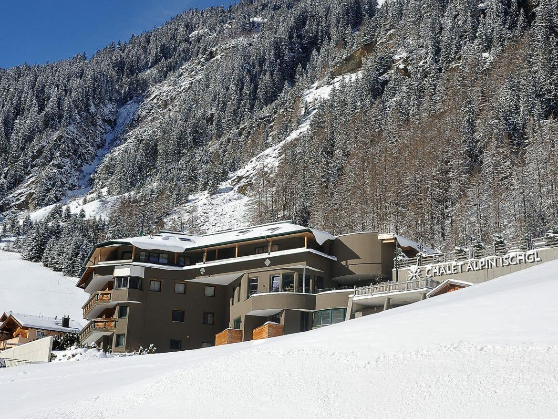 Chalet Alpin Ischgl - Winteransicht