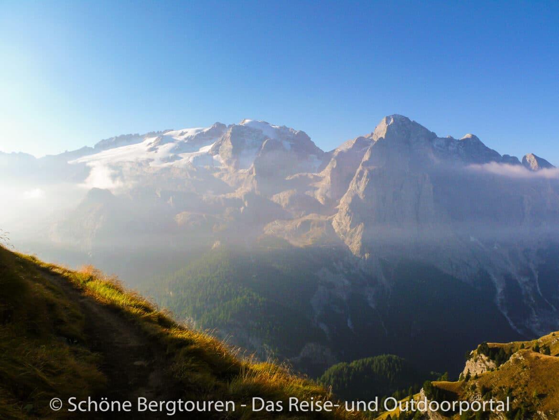 Dolomiten - Blick zur Marmolata