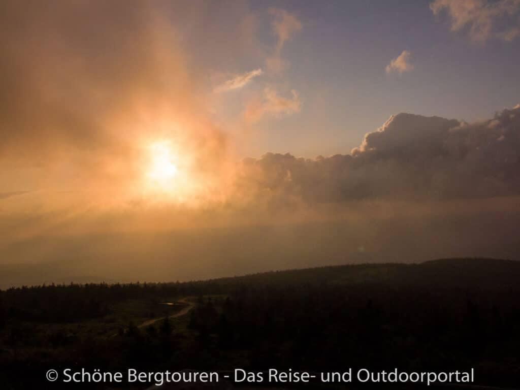 Harz - Ausblick vom Brockenplateau