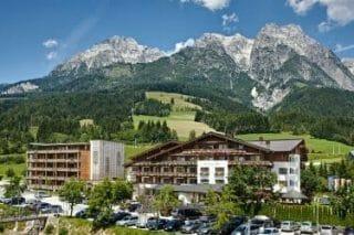 Hotel Salzburger Hof Leogang - Aussenanischt von Sueden