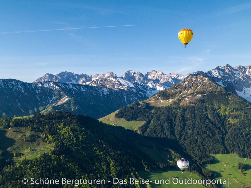 Kaisergebirge - Blick zum Wilden Kaiser