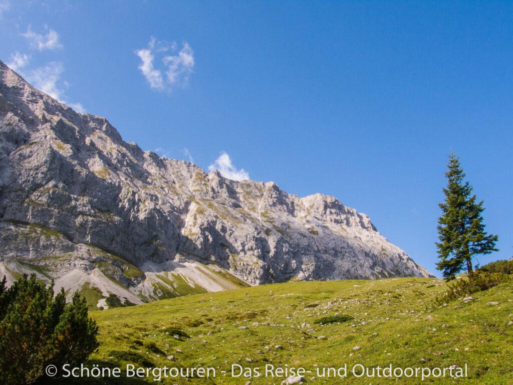 Karwendelgebirge - Hochalmsattel