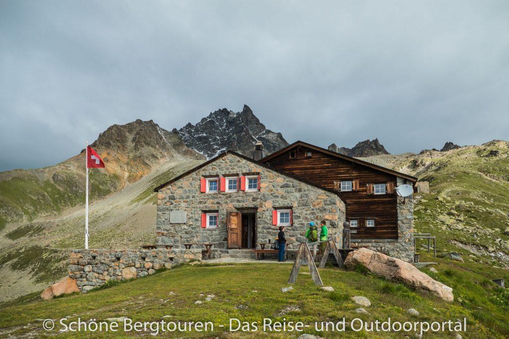 Kesch-Trek -  Es-Cha Hütte