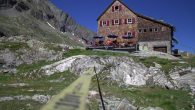 Adolf Nossberger Hütte (2.488m Höhe)