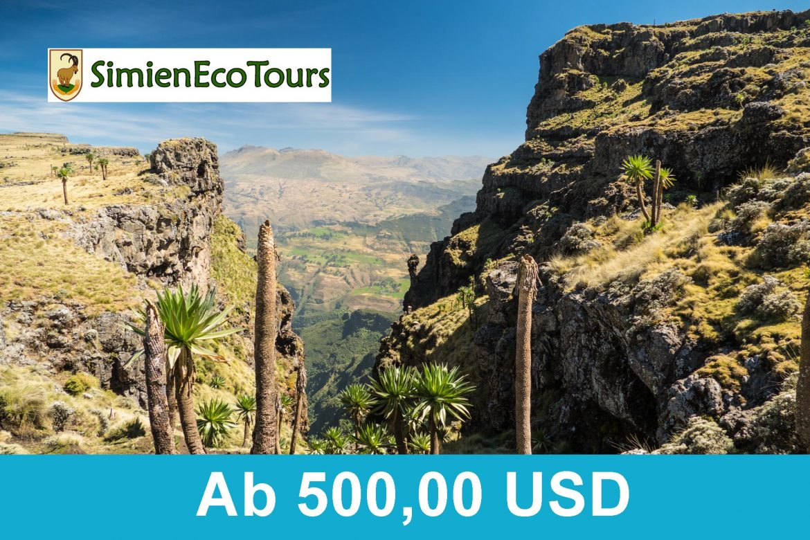 SimienEcoTours - Simien Mountains 4 Tage 2019 ab 500 USD