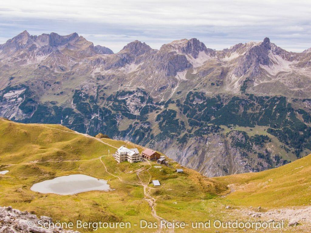 Allgäuer Alpen - Rappenseehütte