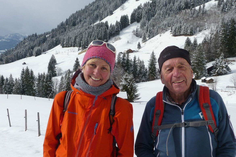 BergaufBergab - Julia Schultz mit dem Bergfuehrer Udo Zehetleitner