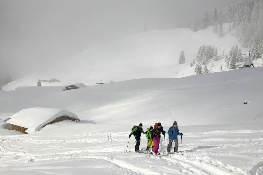 BergaufBergab - Skitour mit Kindern