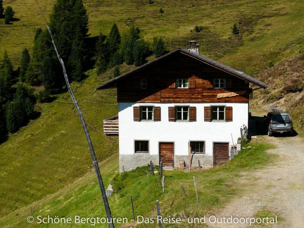 Dolomiten - Turnaretscher Hütte