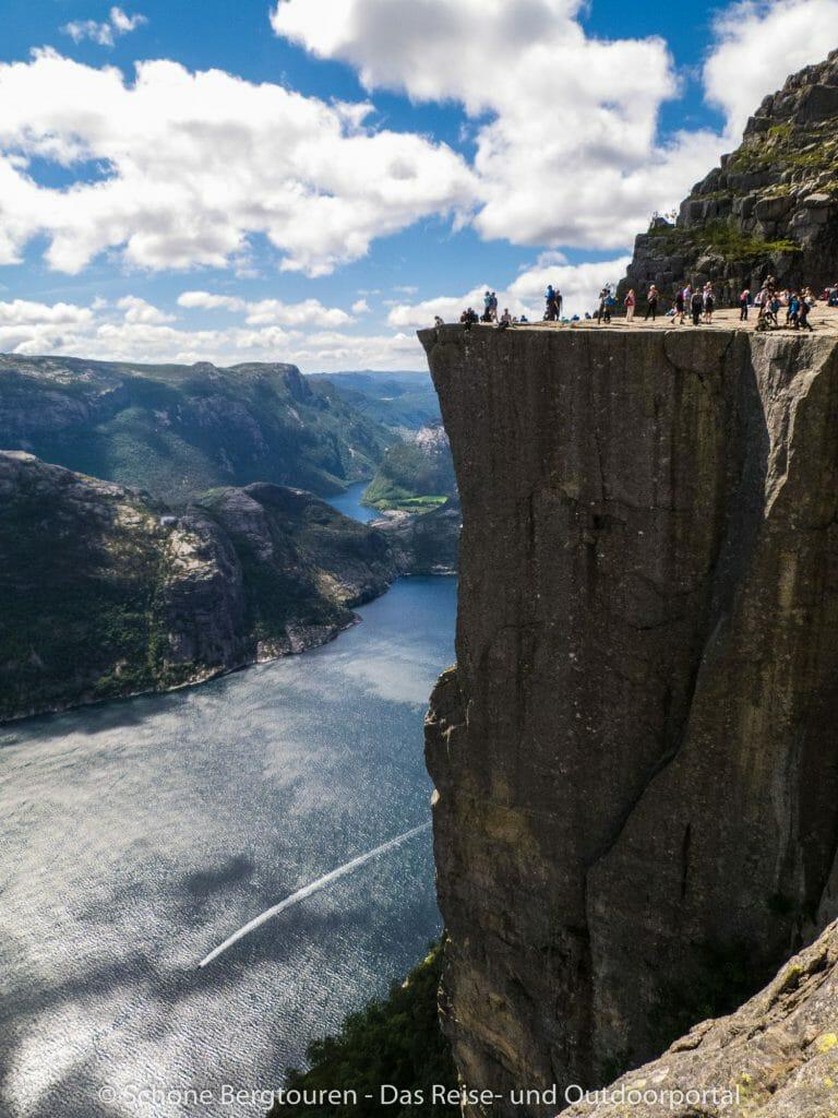 Fjord Norwegen - Preikestolen