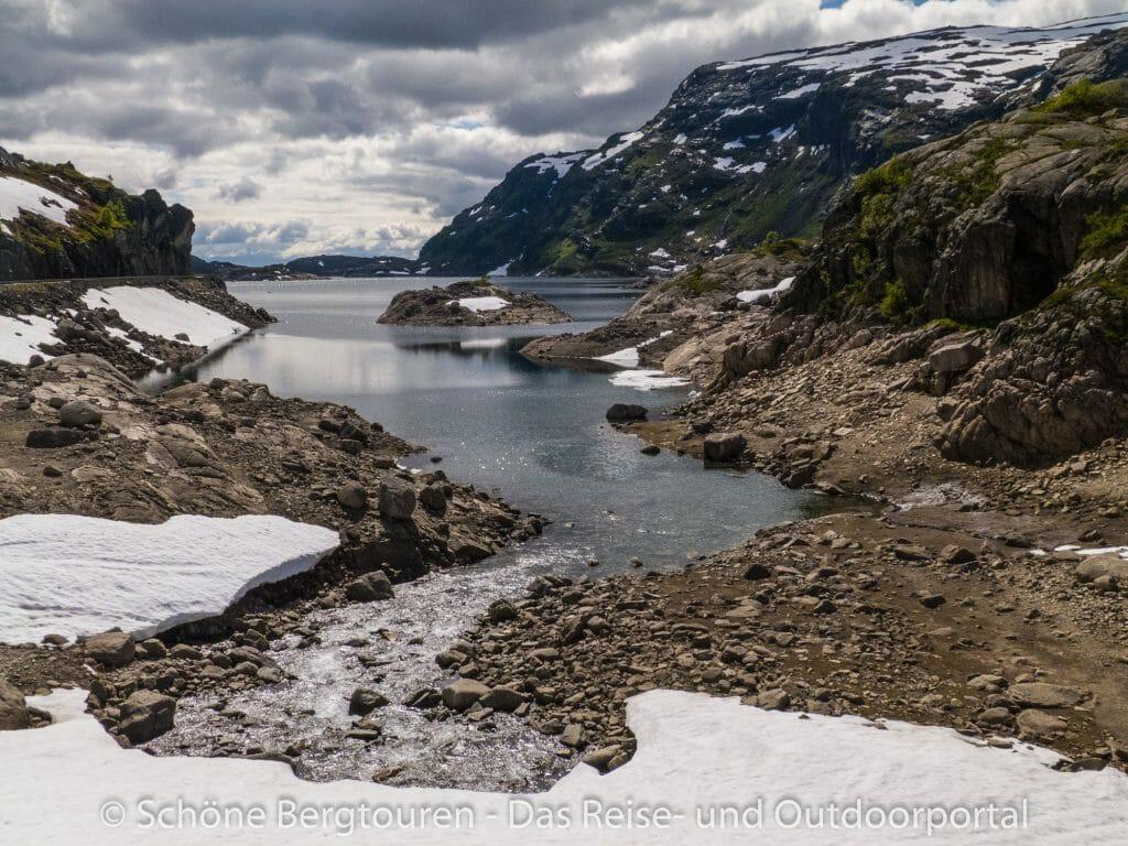 Fjord Norwegen - Roldalsvatnet