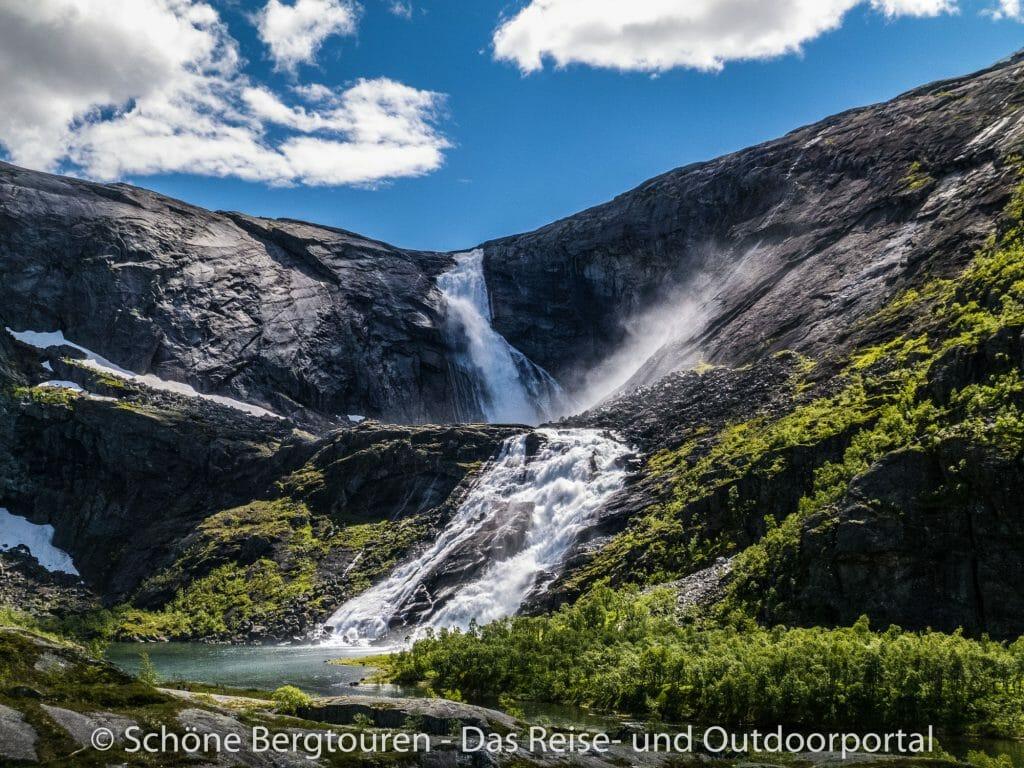 Fjord Norwegen - Sotefossen im Husedalen
