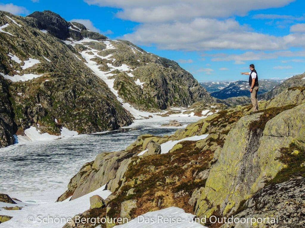 Fjord Norwegen - Svartevatnet