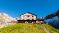 Memminger Hütte (2.242m Höhe)