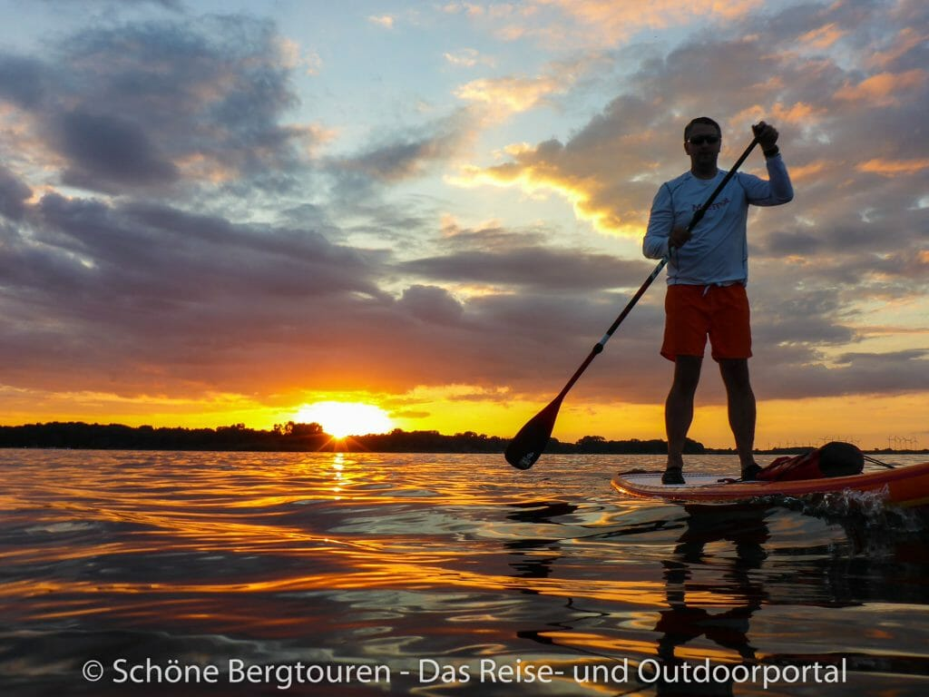 Plauer See - Stand Up Paddling