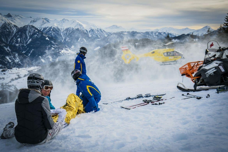 Bergwelten - Rettungseinsatz auf der Piste