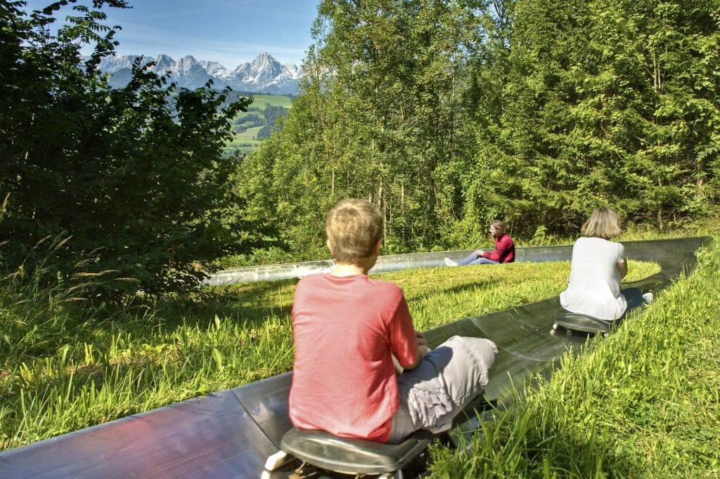 Ferienregion Pyhrn-Priel - Sommerrodelbahn am Wurbauerkogel