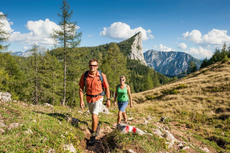 Ferienrregion Pyhrn-Priel - Wurzeralm beim Aufstieg