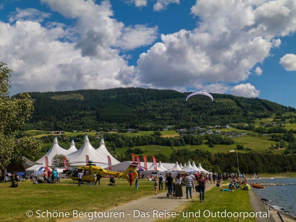 Voss - Festivalgelände der Extremsportveko