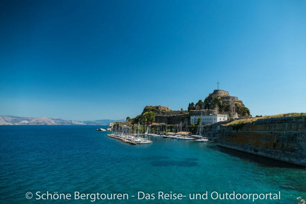 Korfu Stadt - Alte Festung