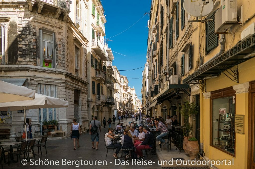 Korfu Stadt - In der Altstadt